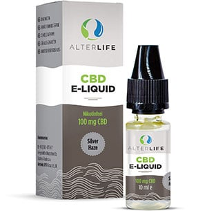 Alterlife CBD Liquid Silver Haze