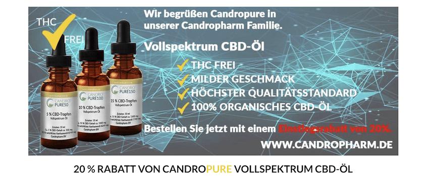Rabatte und Aktionen von Candropharm
