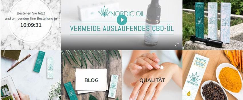 CBD Hersteller Nordic Oil