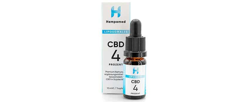 Liposomales CBD-Ölvon Hempamed