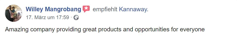 zweiter Erfahrungs Kannaway